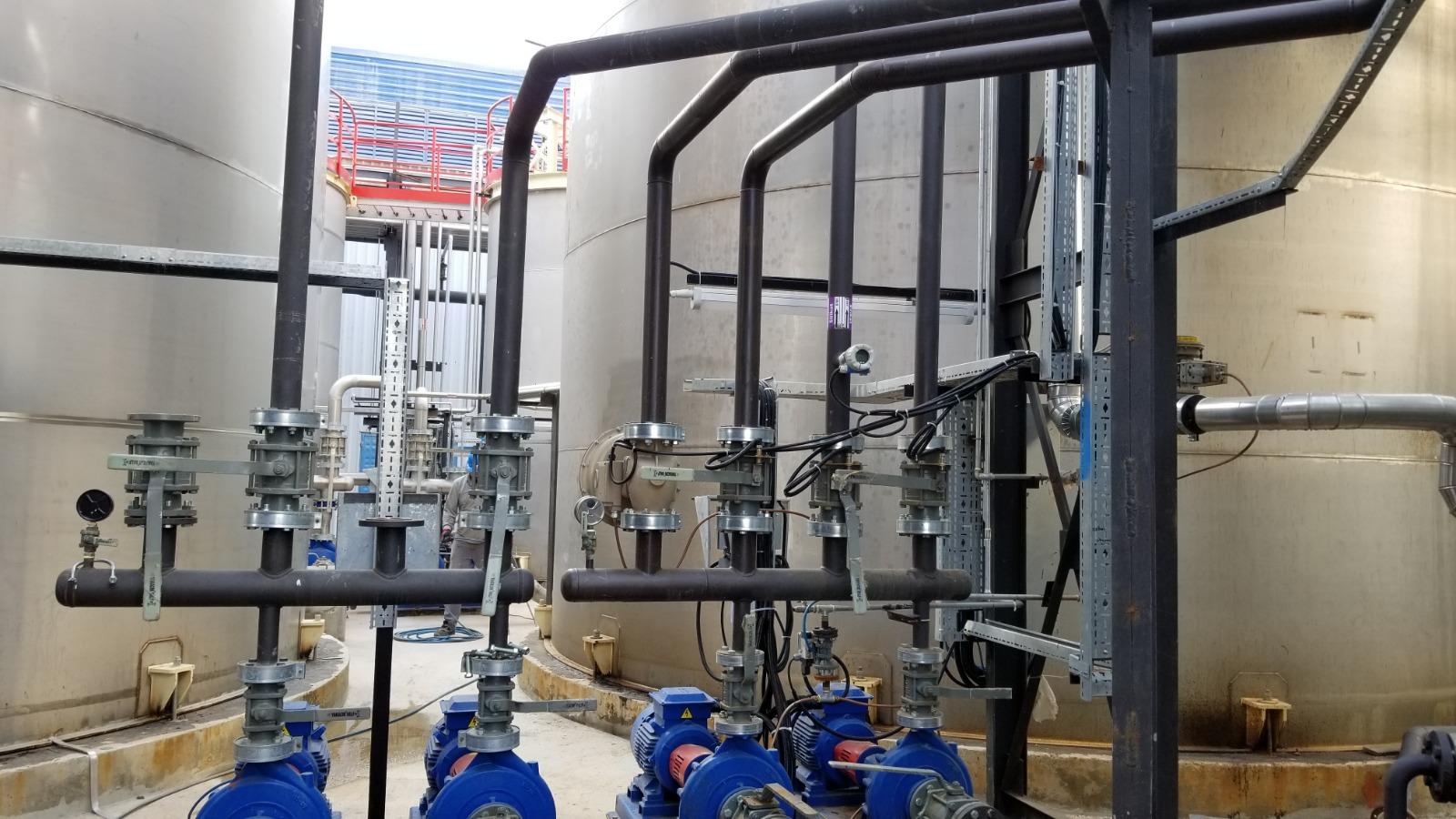 Ege Kimya Kapasite Arttırım Çalışmaları
